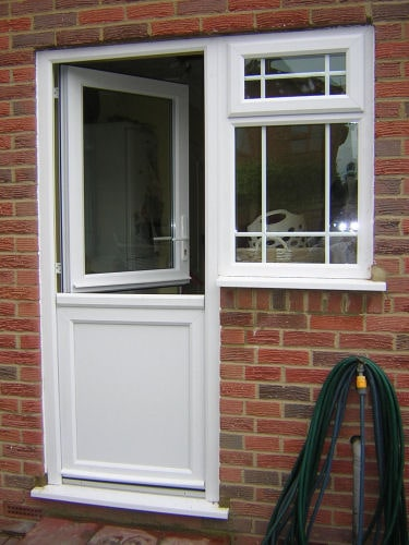 Upvc doors front doors double doors sliding patio for Back door with window that opens