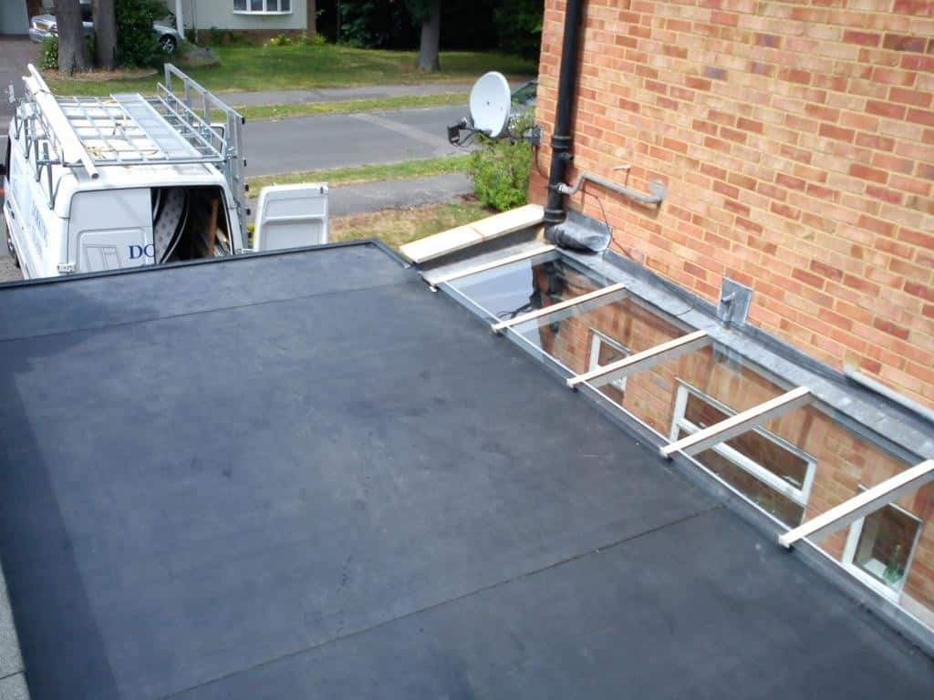 RubberBond EPDM Flat Roof