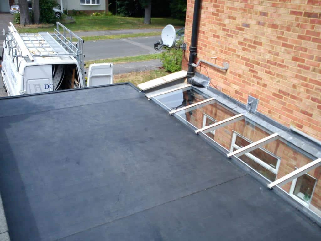 Flat Roof Repair | New Flat Roof | EPDM flat Roofing ...