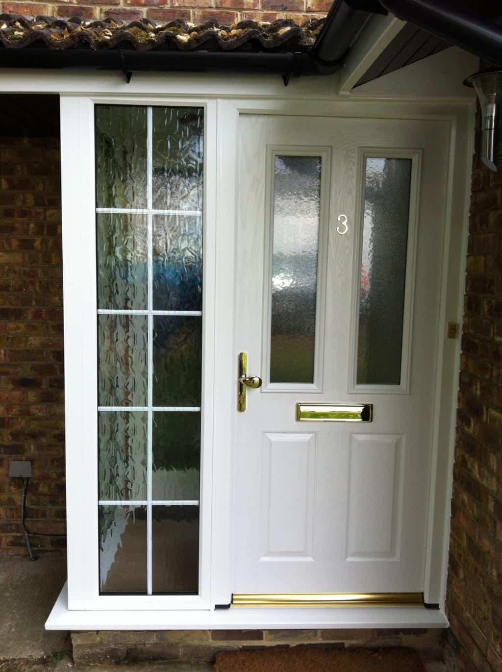 Front entrance doors exterior doors replacement surrey dorking glass for White exterior door with glass