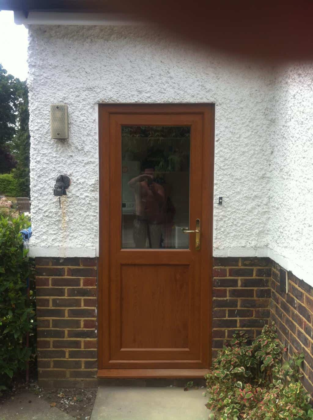 Upvc doors front doors double doors sliding patio for Double doors for back door