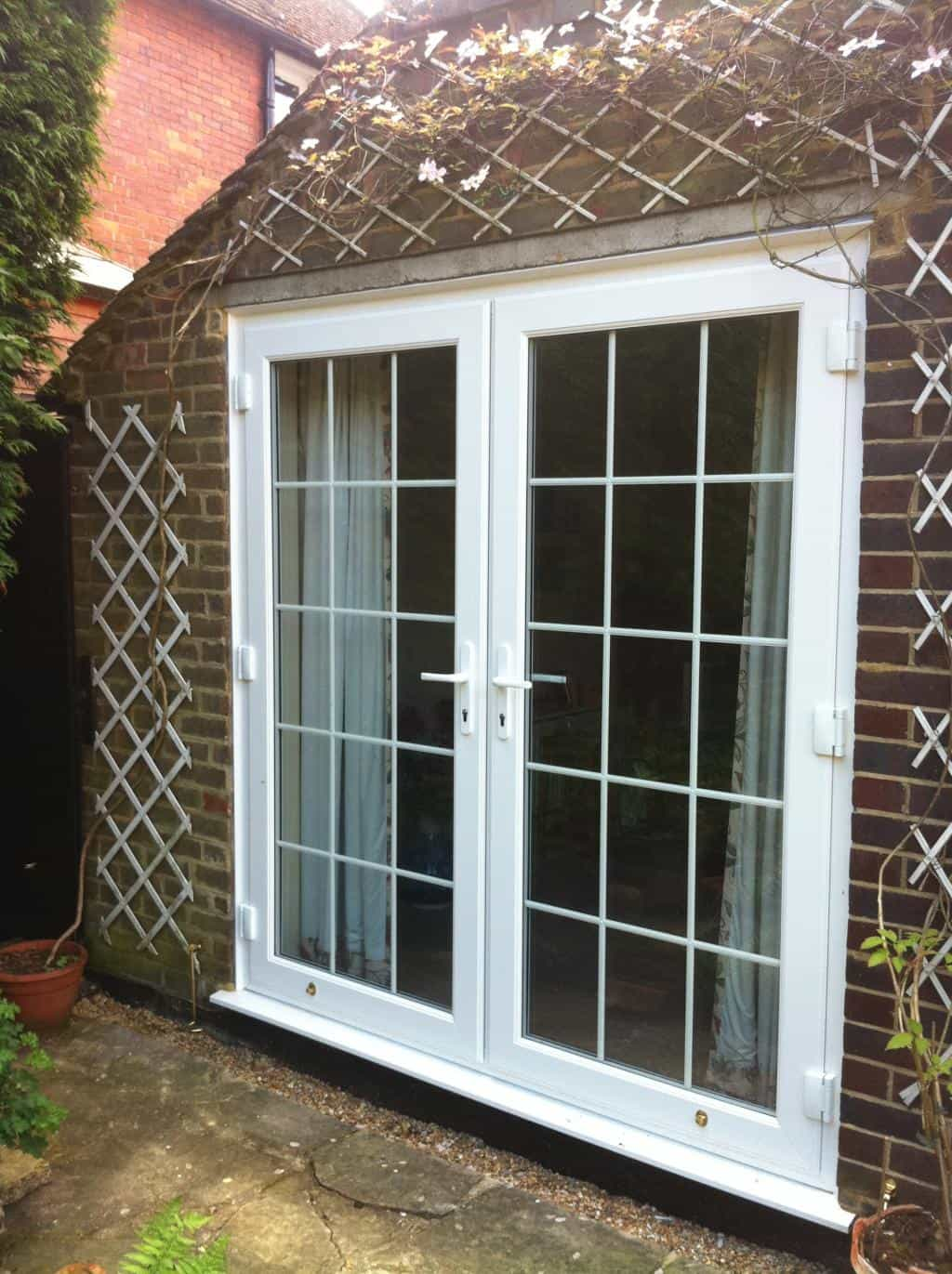 Upvc doors front doors double doors sliding patio for Upvc french doors