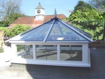 Lantern roof lights lantern skylights dorking glass for Window roof design