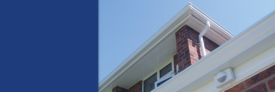 Fascias and soffits in surrey with Dorking Glass