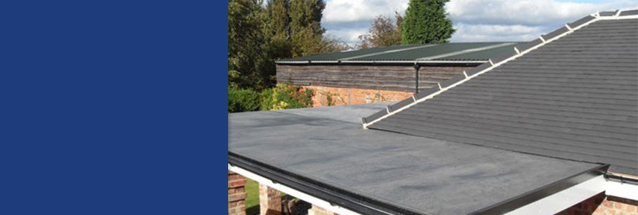 EPDM Rubber Roofs installed by Dorking Glass
