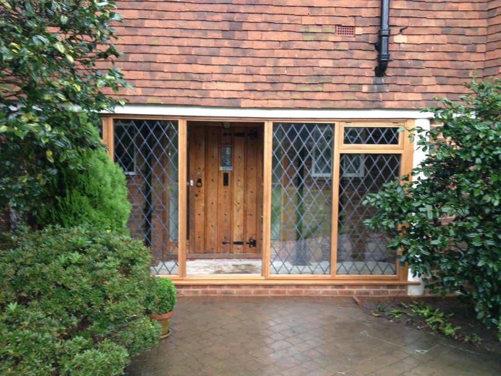 Hardwood Timber Windows Double Glazing Dorking Glass