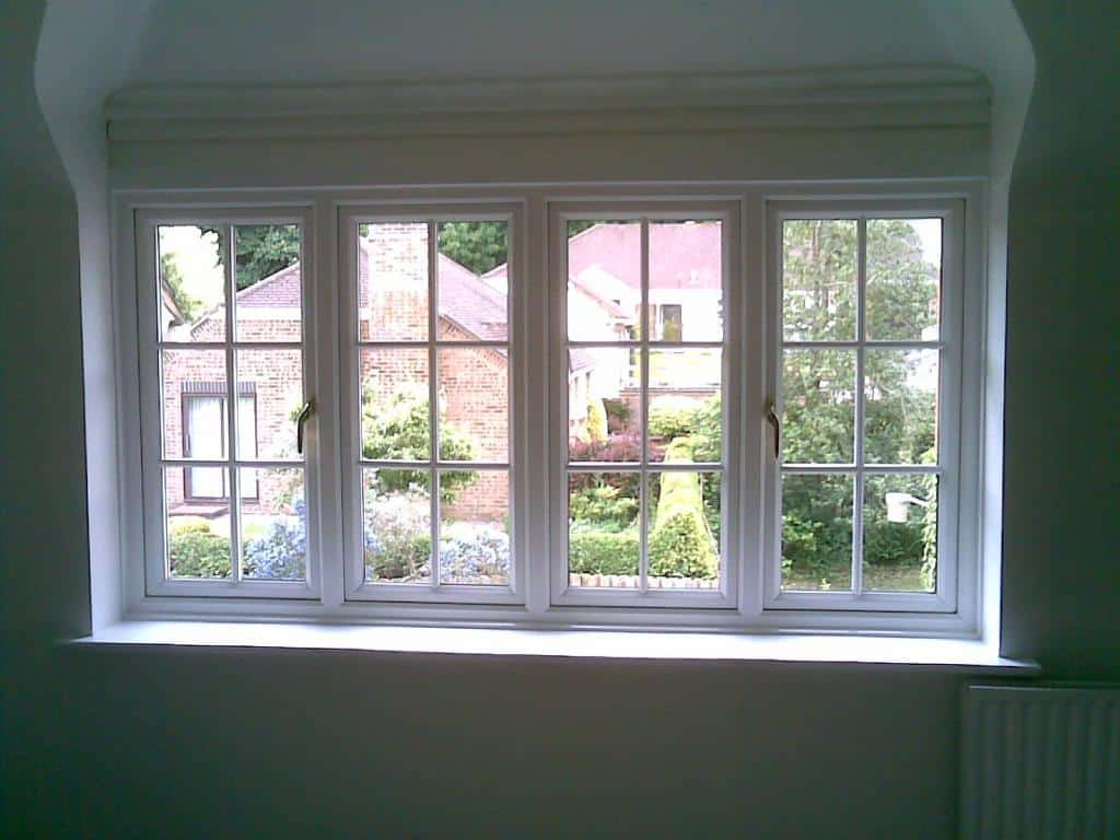 Standard White Upvc Window Gallery Dorking Glass