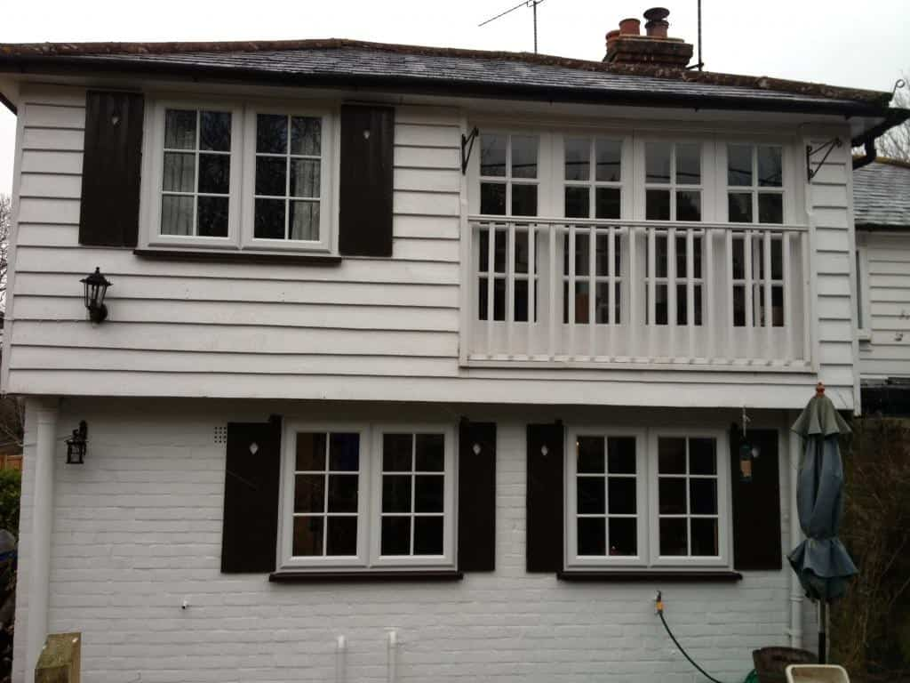 New uPVC Georgian Bar Windows Dorking Surrey