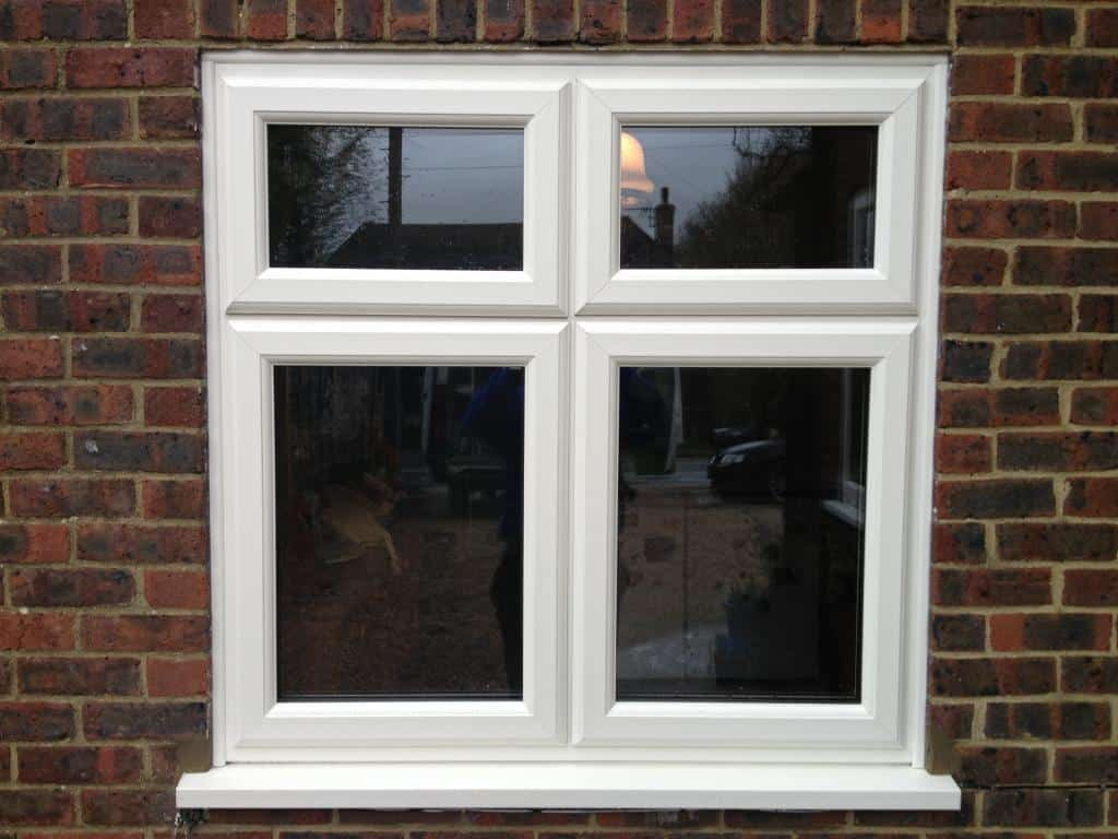 White woodgrain upvc window gallery dorking glass for Windows windows windows