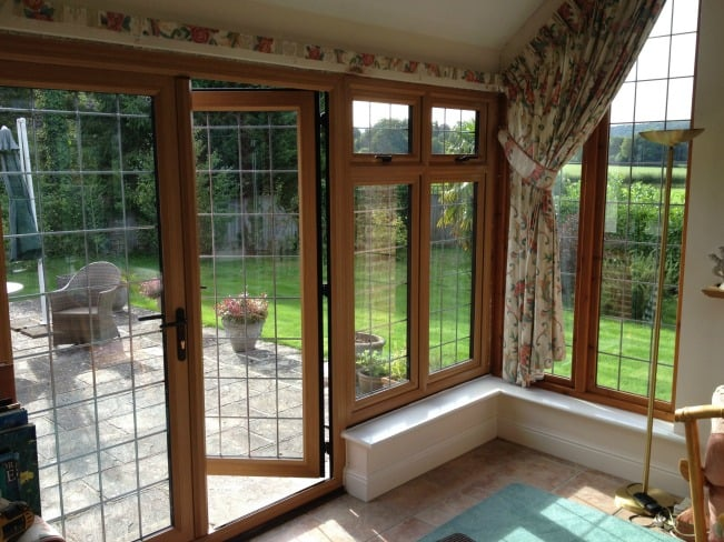 Upvc windows archives dorking glass for Brown upvc patio doors