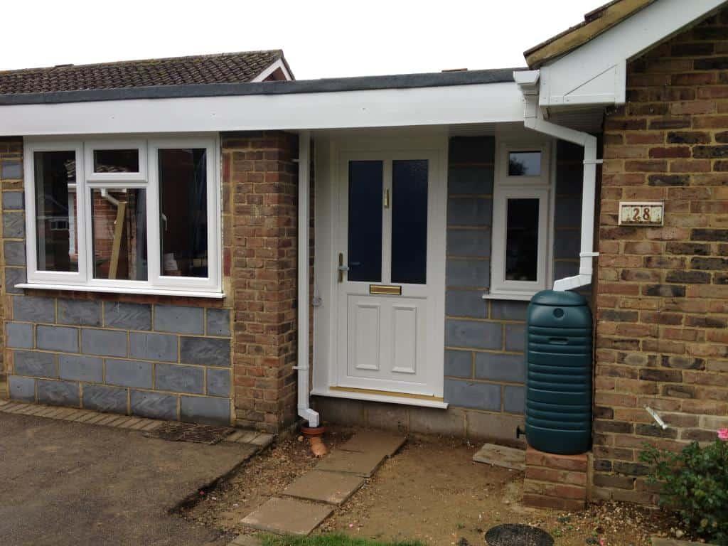 768 #624C37 Front Entrance Doors Exterior Doors Replacement Surrey Dorking  image Replacement Upvc Doors Exterior 4731024