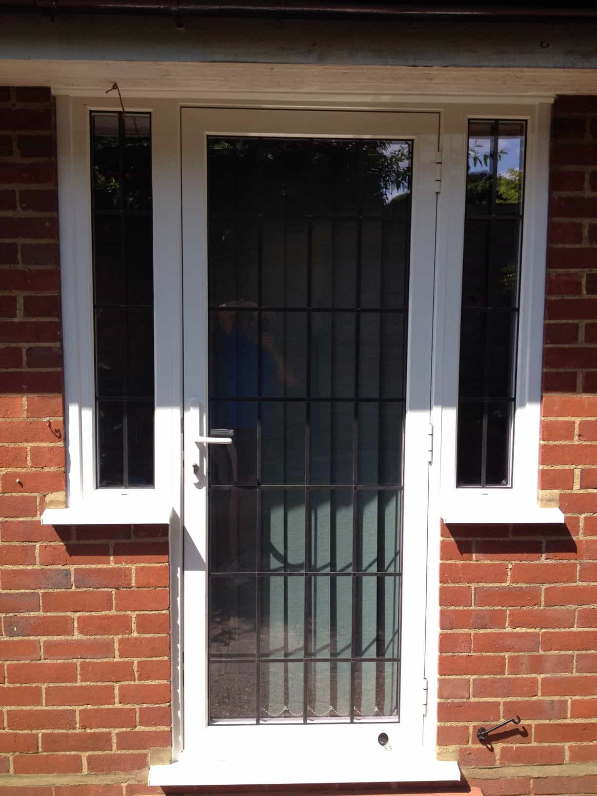 Aluminium windows double glazing dorking glass surrey for Double glazed glass panels