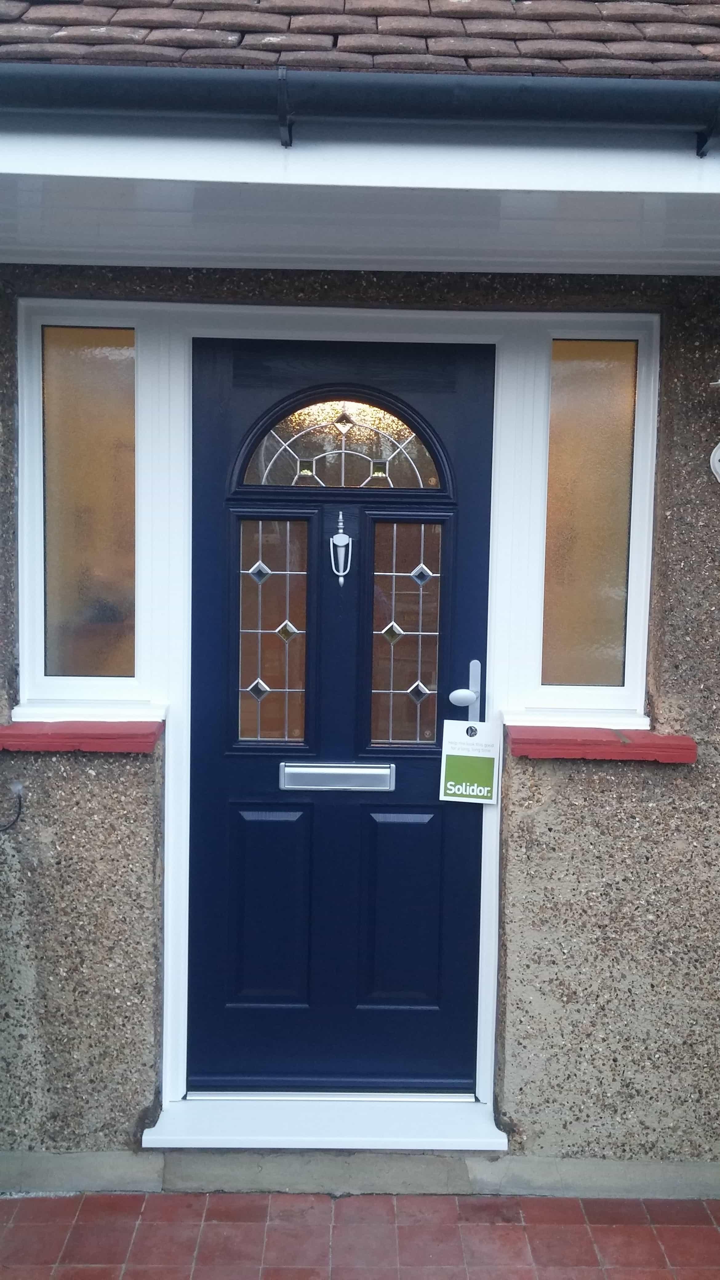 4160 #336F98 Front Entrance Doors Exterior Doors Replacement Surrey Dorking  pic Front Doors Installed 47012340
