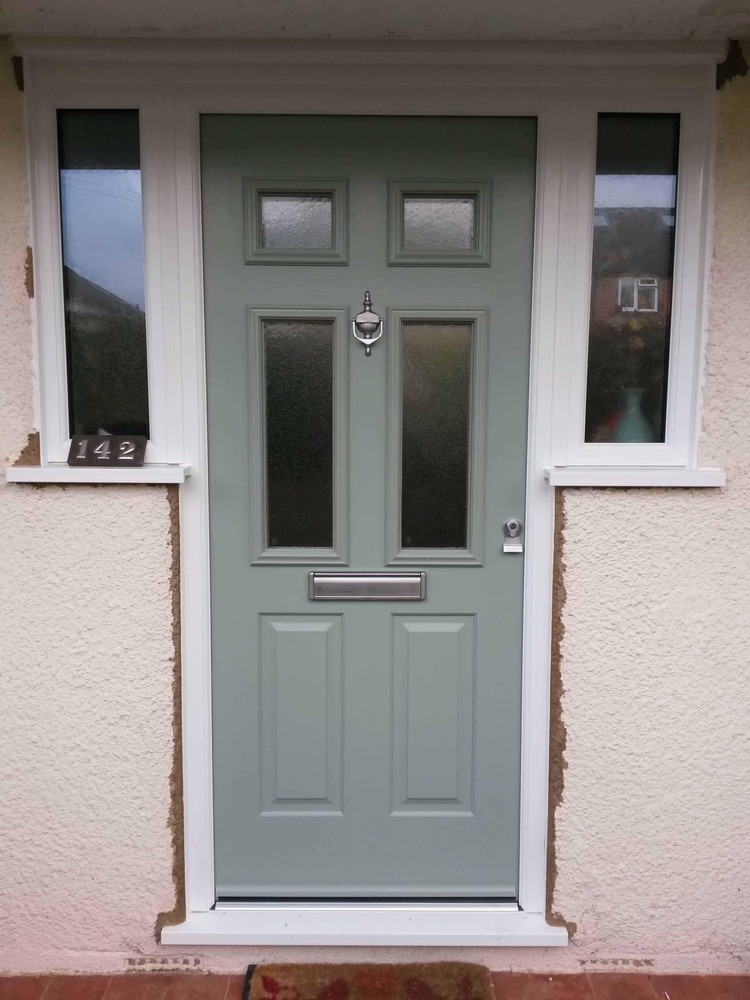 Replacement composite front doors front entrance doors for Door window replacement