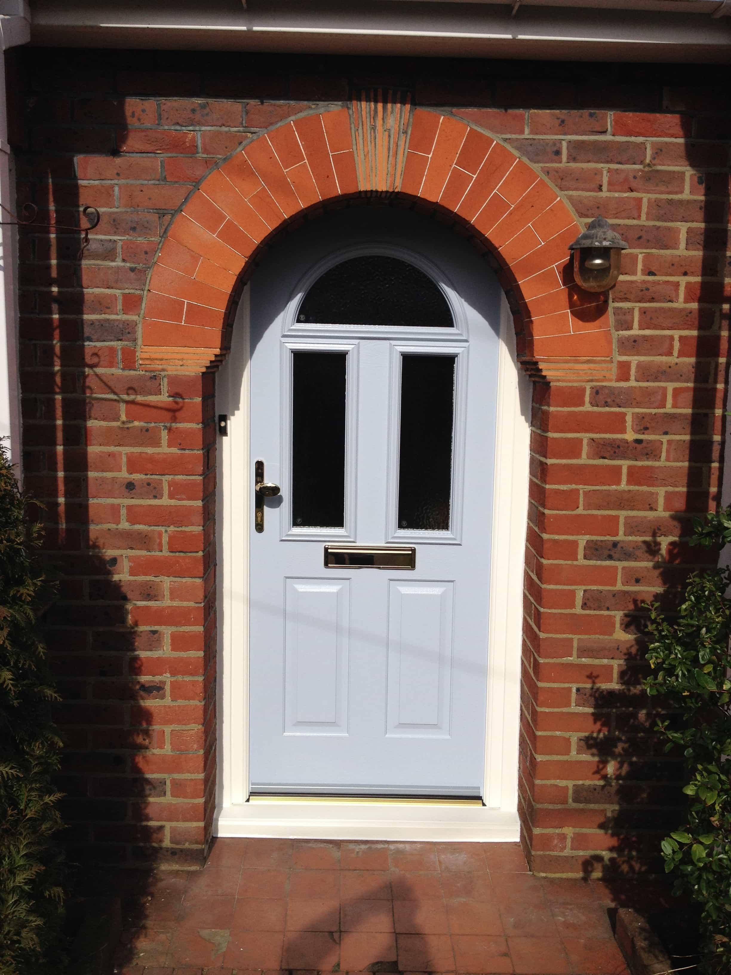 Front entrance doors exterior doors replacement surrey for Double door house entrance