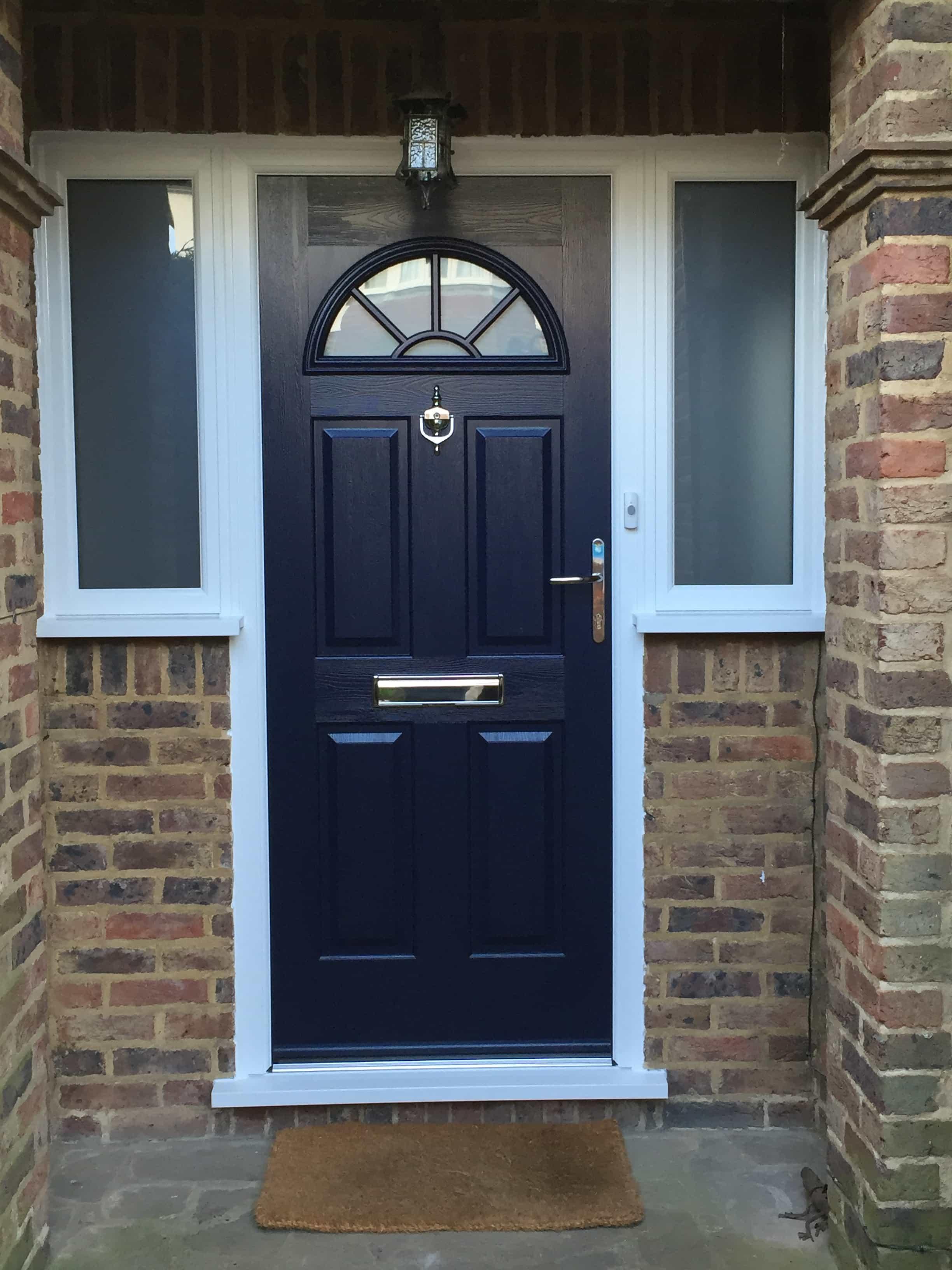 3264 #336D98 Front Entrance Doors Exterior Doors Replacement Surrey Dorking  pic Front Doors Installed 47012448