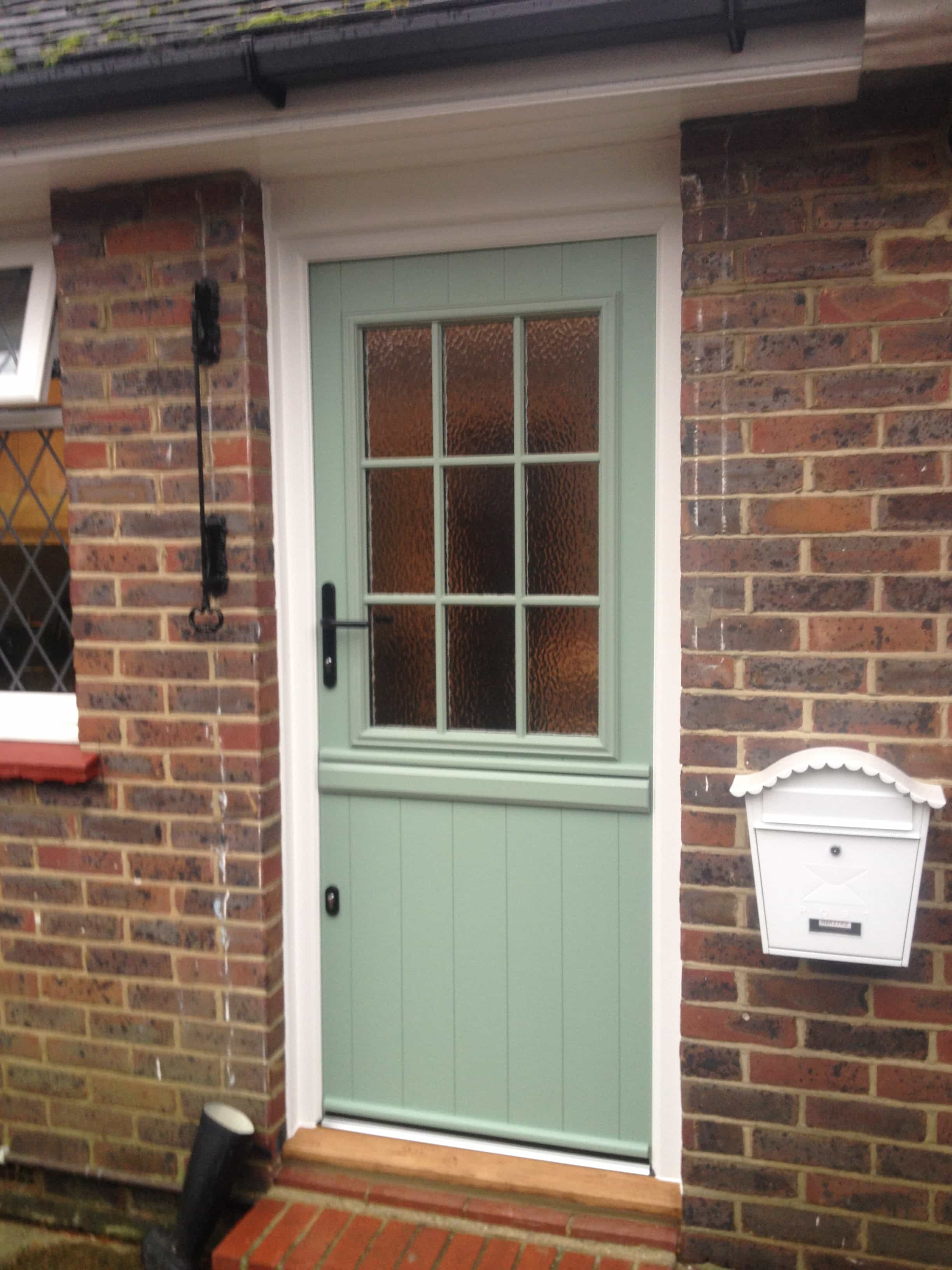 Front entrance doors exterior doors replacement surrey for Small double front doors