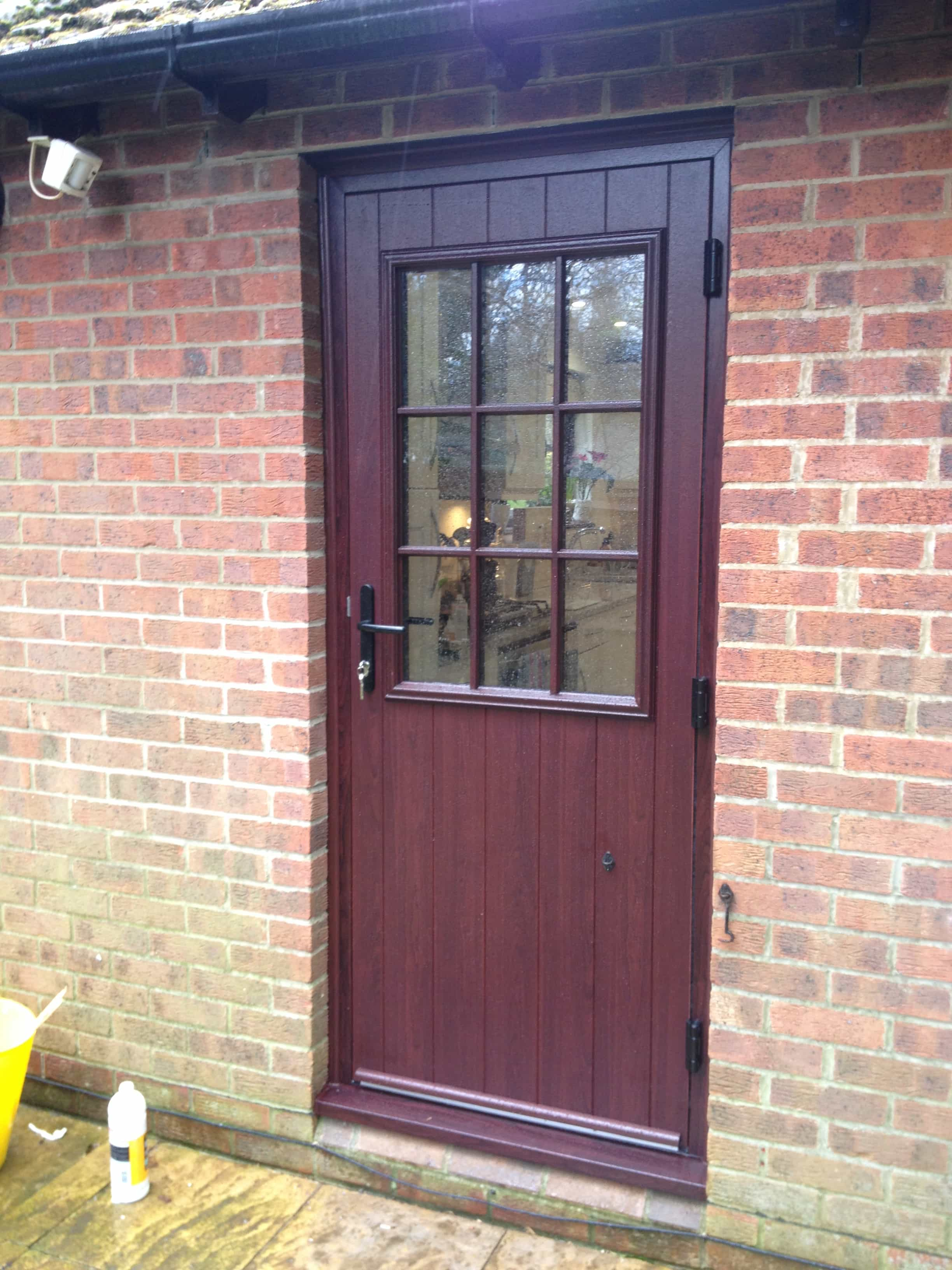 Front entrance doors exterior doors replacement surrey for Upvc glass front doors