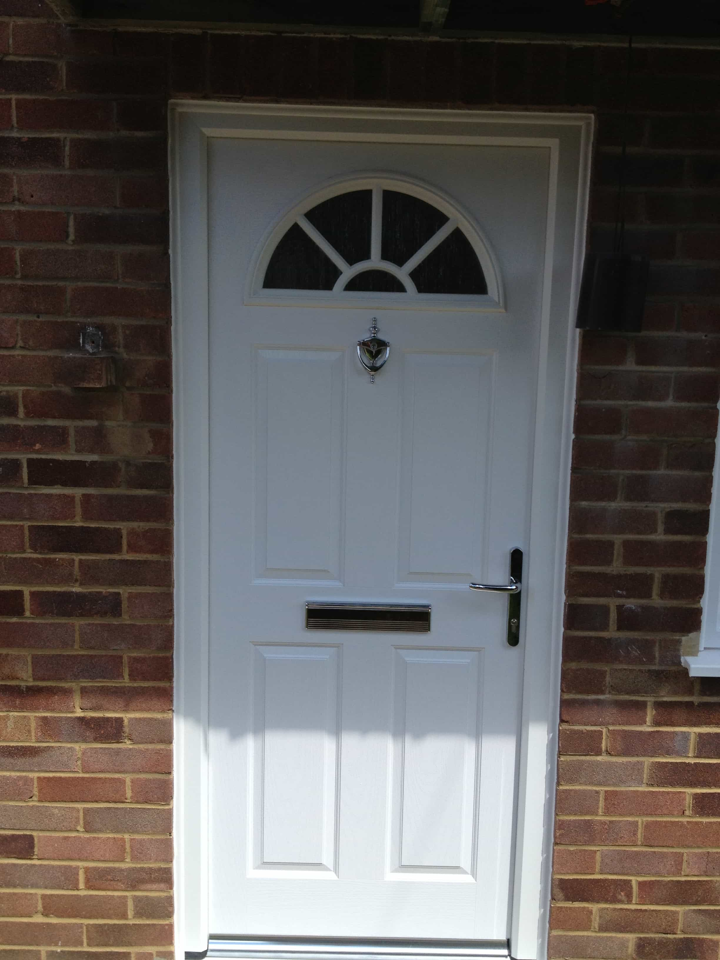 Front entrance doors exterior doors replacement surrey for White front door with glass