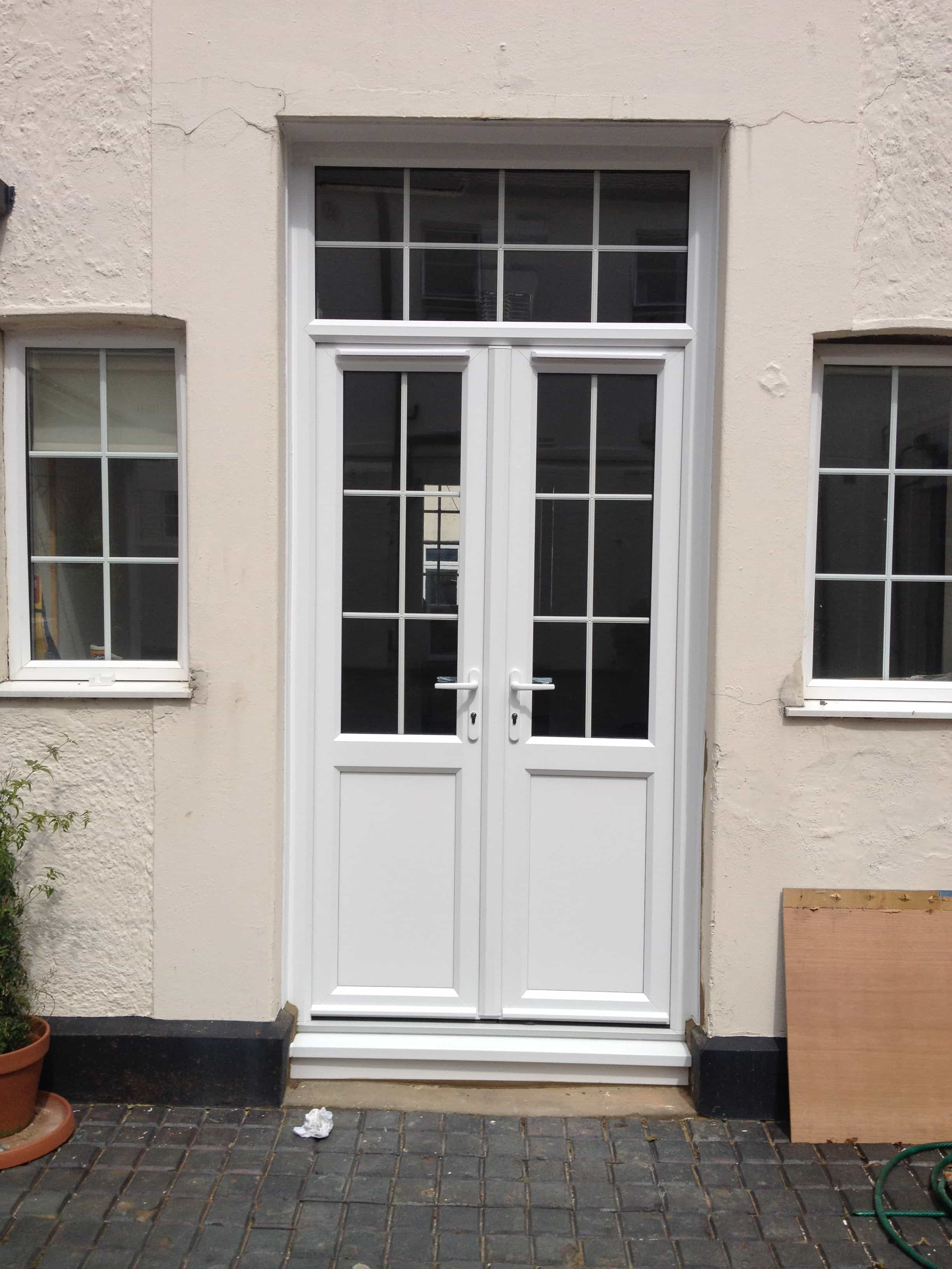 Upvc doors front doors double doors sliding patio for Double glazed glass panels