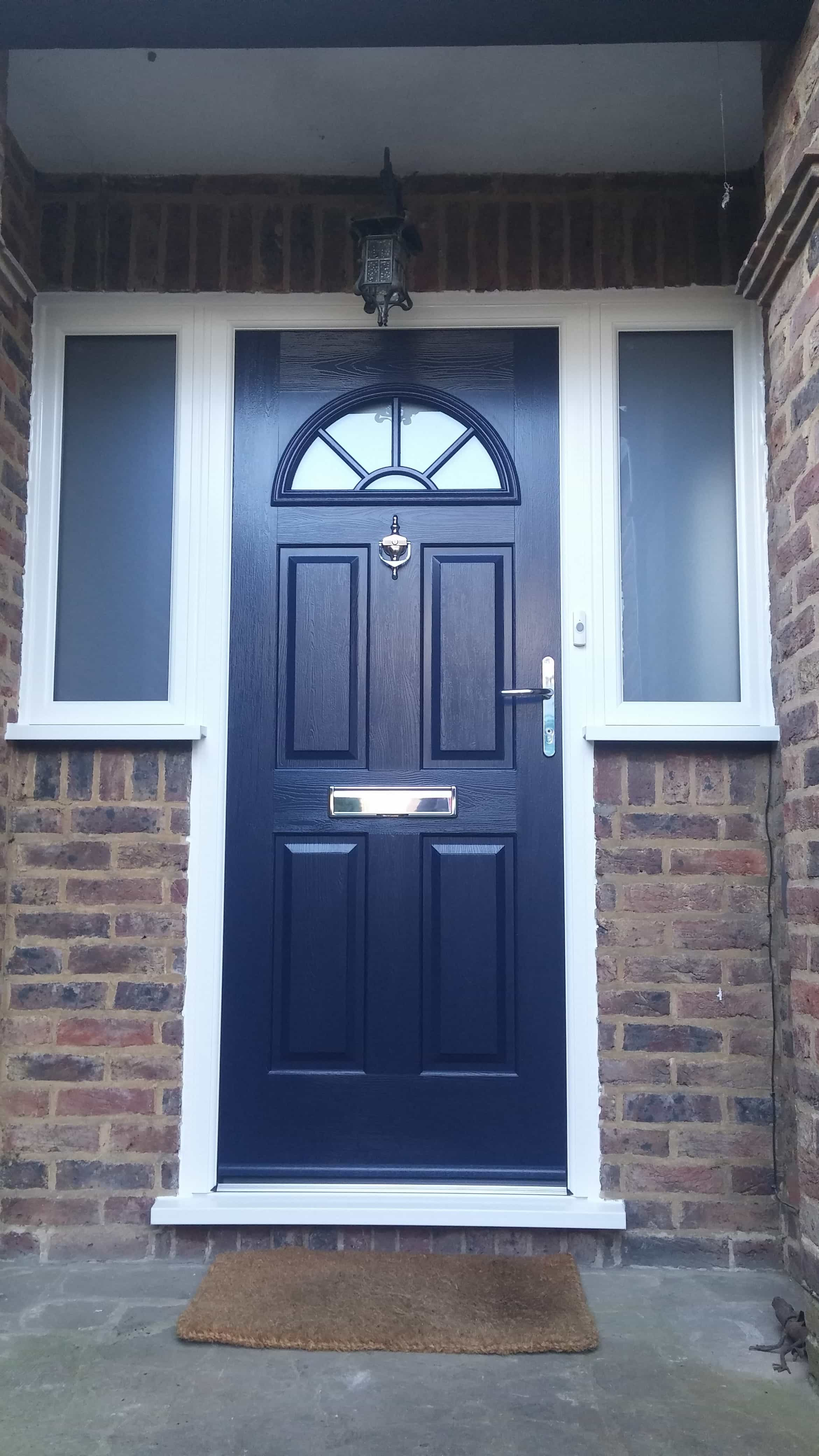 Front entrance doors exterior doors replacement surrey for Door window replacement