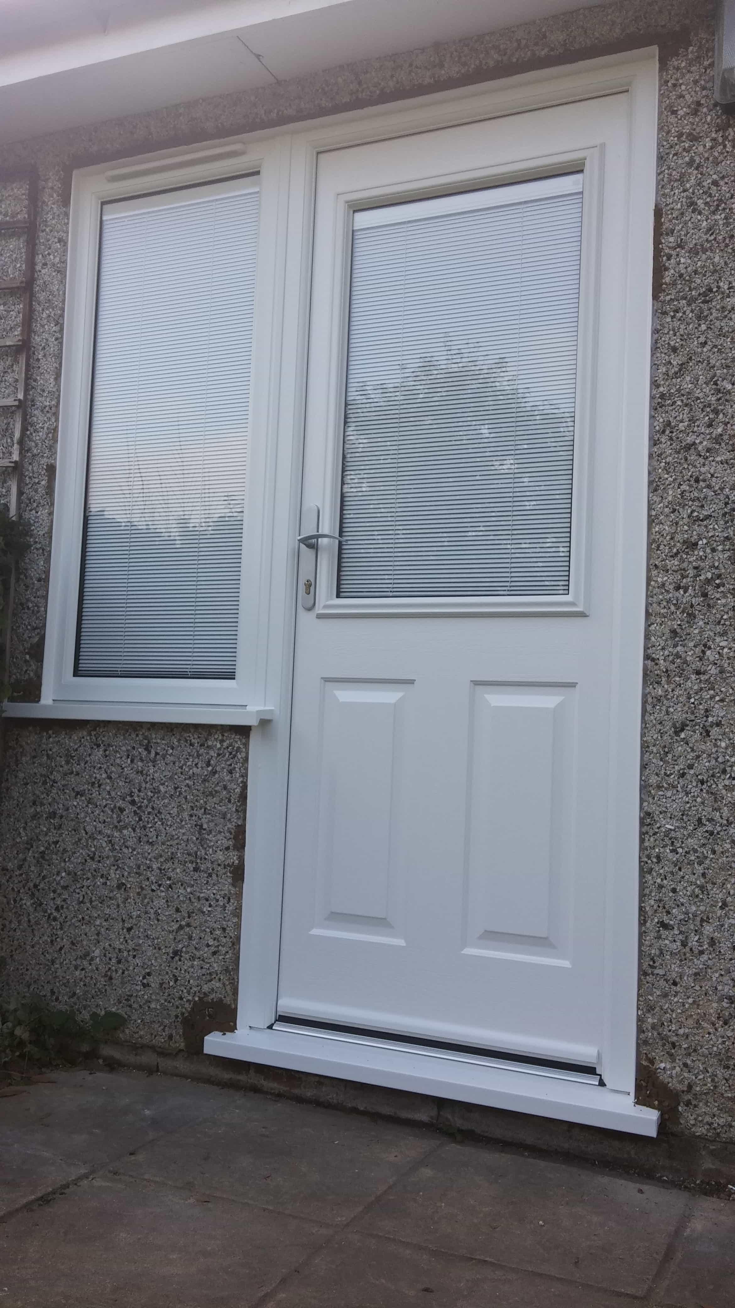 Upvc doors front doors double doors sliding patio for Blinds for upvc patio doors